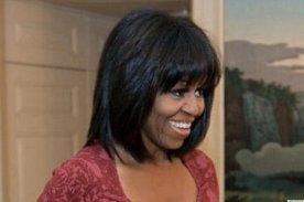 Michelle Obama bangs