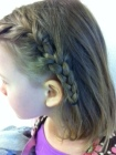 March girl braids