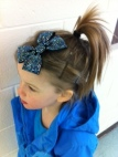March girl pony clip