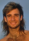 Mullet Andre-Agassi
