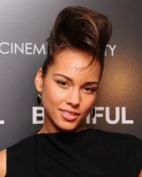 Pompadour Alicia Keys